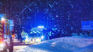 Trafikolycka norr om NorbergFoto: Niklas Hagman