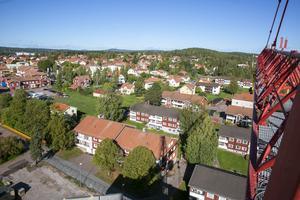 Utsikt mot Käringberget.