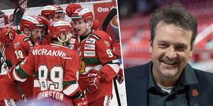 Hermodsson och Mora bygger på ett liknande sätt som säsongen 16/17. Foto: TT.