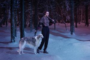 Tora Vinter är Anna Frost alter ego. Foto: Pressbild.
