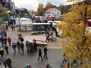 Bild från Åre höstmarknad.