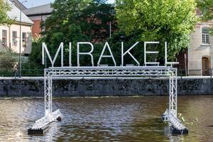 Örebro kommun köpte in verket MIRAKEL från årets Open Art.FOTO: GABRIEL RADSTROM/NA