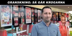 Fredrik Thorslund är delägare i Diner 45 och är en av de runt 15 personer som arbetar året runt på företaget i Rättvik.