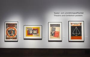 Konstnärerna inspirerades av kubism och futurism när Sovjets nya människa skulle få ett nytt formspråk. Foto: Hanna Franzén/TT