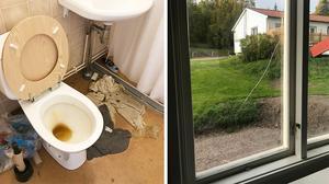 Lägenheten där spelarna bott såg ut att vara lämnad i all hast. På badrumsgolvet låg blöta handdukar, i kylen stod mat kvarlämnad och en fönsterruta var sprucken.