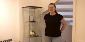 Rebecca Höglund har tre SM-guld i sin samling.