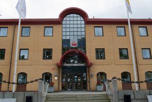 Förvaltningshuset i Söderhamn.
