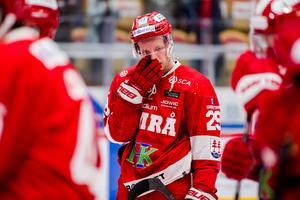 Morten Madsen kom till Timrå från Karlskrona som slogs ut av Timrå. Ett år senare åkte han ur SHL med Timrå. Bild: Pär Olert/Bildbyrån