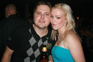 Blue Moon Bar. Sofie och Mattias