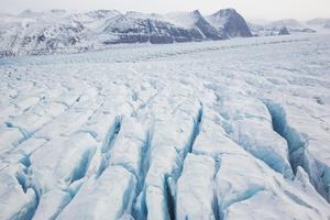 Glaciär på Svalbard. Foto: Tore Meek/NTB Scanpix