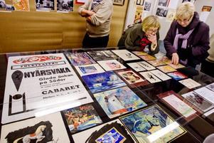 Affischer. Arkiv Gävleborg har letat fram olika sorters dokumentation om teaterlivet i Gävle. En stor del av det material som finns kvar består av affischer och bilder.