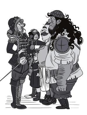 Illustration av Rebecka Helmersson ur Linn Åslunds