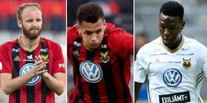 Curtis Edwards och Alhaji Gero är två spelare med utgående kontrakt som ändå kan vara tillgängliga mot IFK Göteborg. Ravel Morrison räknas däremot bort av tränare Burchnall för den matchen och lite tyder nu på att han återvänder till Östersund.