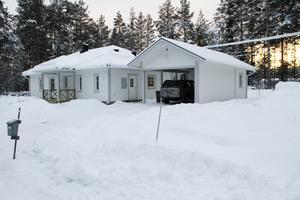 Lagom till jul var det nya huset inflyttningsklart.