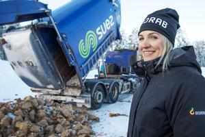 Ida Blomqvist, renhållningschef vid Borab.