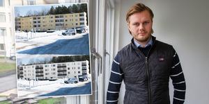 Tobias Österberg är en av delägarna i Märta investment som äger Tallvägen 20 och 22.