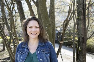 Skådespelaren och komikern Anna Blomberg. Foto: TT