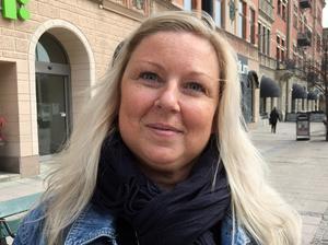 Charlotte Larsson, 47 år, socialsekreterare, Alnö