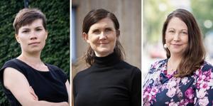 Annika Hirvonen, jämställdhetspolitisk talesperson (MP),Märta Stenevi, språkrör (MP), Madeleine Jonsson (MP), vice ordförande Hälso- och sjukvårdsstyrelsen VGR