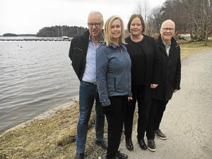 Samverkansstyret 2014-2018 består av Olle Jansson (S), Ingrid Landin (MP), Ulrika Falk (S) och Anders Olander (C).