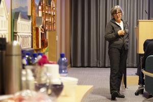 Brottsofferjouren i Ljusdal, där Karin Andersson är ordförande, var värd för tisdagens möte som hölls i Ljusdals kommunhus.