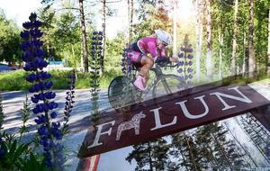 Frida Knutsson hoppas att de bekanta vägarna runt Faluområdet kan få henne på banan igen. Foto: privat