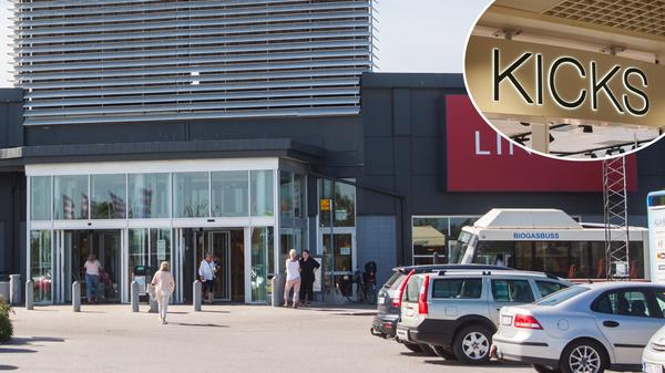 Nästa butik att packa ihop sina saker och lämna Hälla Shopping blir Kicks.