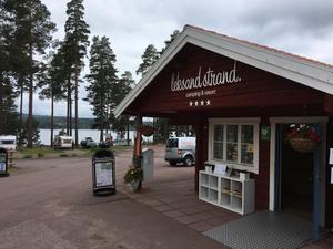 En stor räddningsinsats gjordes vid Leksands Strand efter att en 9-åring försvunnit.