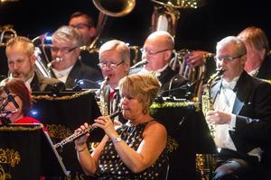 För trettiofemte gången bjöd Bollnäs Blås in till nyårskonsert på Kulturhuset i Bollnäs.