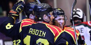 Rödin och Greg Scott tillsammans igen. Bild: Mats Åstrand/TT, arkiv
