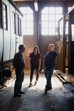 Peter Norberg, Maria Nilsson och Jan Billock hoppas att många hittar till mässan.