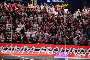 Frölundafansen invaderade Kinnarps Arena i början av februari.