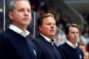 Leksands tränare Leif Carlsson. Foto: Daniel Eriksson/BILDBYRÅN