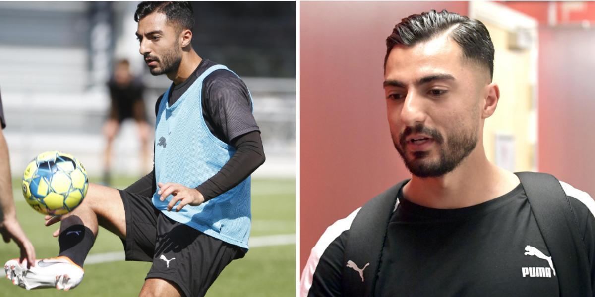 Uppgifter: Hamad öppnade för ÖSK – nu har konkurrenten erbjudit stjärnan ett kontrakt