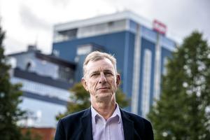 Björn Persson, Eon, ser inget motsatsförhållande mellan att satsa på elnätet och att driva verksamheten med vinst. Foto: Håkan Risberg. Bilden är en arkivbild.