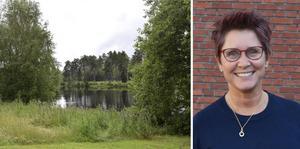 Karola Svensson (C), kommunalråd i Falköping, vill ha ett förändrat strandskydd. Foto: Wilma Ehnlund, Michael Joelsson