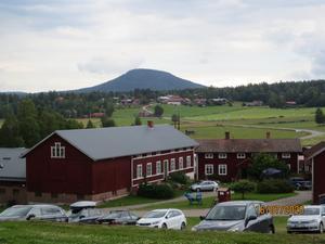 Utsikt från Stenegård på Järvsö klack.