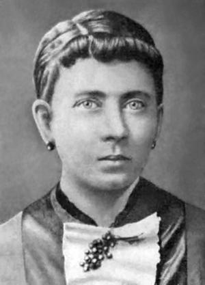 Den djupt religiösa och kärleksfulla Klara Hitler. Bilden är tagen någon gång under 1870-talet. Foto: Okänd