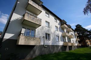 En av de fastigheter på Strindbergsvägen som Telge bostäder sålt.