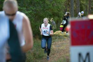 Maria Jonasson, Östersunds SK, var tvåa i damklassen.