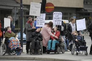 Om utkastet till LSS-utredningen blir till verklighet kommer det att krocka med FN:s konvention om rättigheter för personer med funktionsnedsättningar, skriver Anders Samuelson. Foto: Janerik Henriksson, TT.