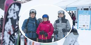 Karlo Kasljevic, Linnea Ekman och Dorotea Jonason från Lunds Universitet besöker Åre Ski Week.