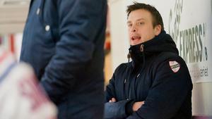 Stefan Lundqvist, som tränare i Avesta BK. Foto: Carl-Henrik Rapp/Arkiv