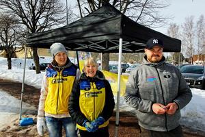 Lisa Hallberg, Karin Hedlund och Marcus Thorssin anordnar är med och anordnar loppet som en del av Cykelteamet Rynkeby God Morgon Dalarna. I sommar cyklar de till Paris för att samla in ytterligare pengar.