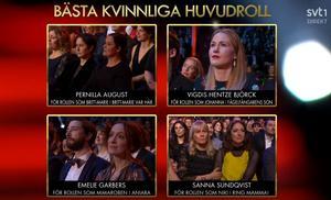 De nominerade i kategorin