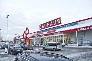 Bauhaus, Västerås.