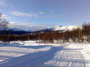 Nordic Ski System i Tänndalen. Foto: Carin Selldén