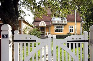 Huset på Floravägen gick för 6,35 miljoner, näst dyrast av villaköpen i Gävle förra året.