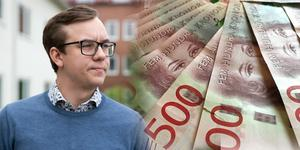 Sebastian Larsson  menar att kommunen måste sänka sina kostnader.