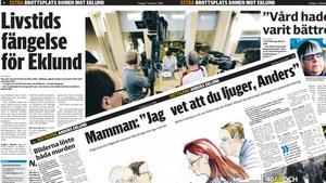 DT den 24 juli och den 7 oktober 2008. Bild: Montage.